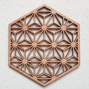 The Laser Shack - Coasters Hexa Star