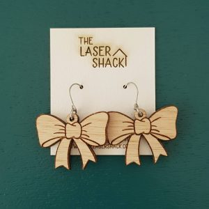 The Laser Shack Earrings Bows