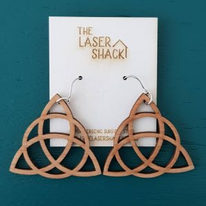 The Laser Shack - Earrings Three Sisters