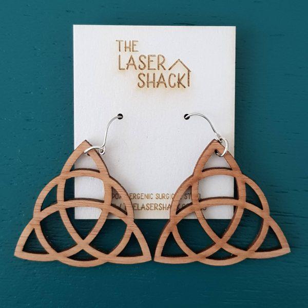 The Laser Shack - Earrings Three Sisters