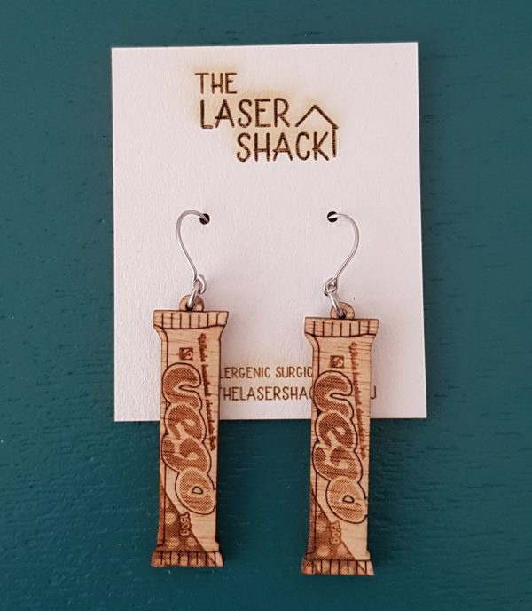 The Laser Shack Earrings VegoBar