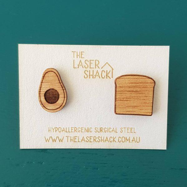 The Laser Shack Studs Avo Toast