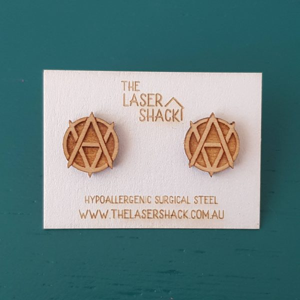 The Laser Shack Studs Veganarchist