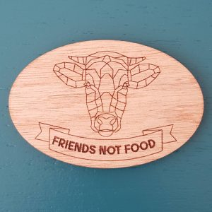 The Laser Shack Magnet Friends Not Food
