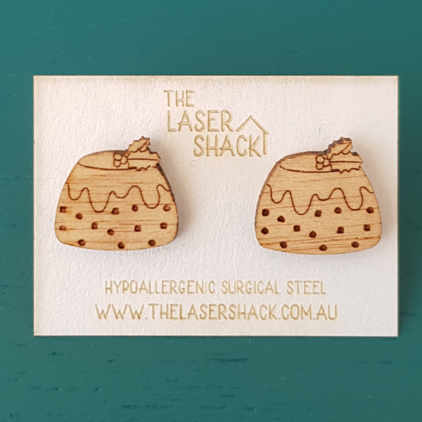 The Laser Shack Studs Christmas Pudding