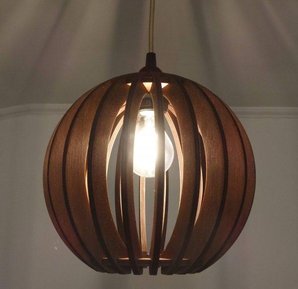 Sphere Lamp Jarrah