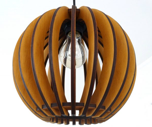 Sphere Lamp Maple