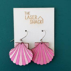 Shells - Hot Pink - Pink Metallic