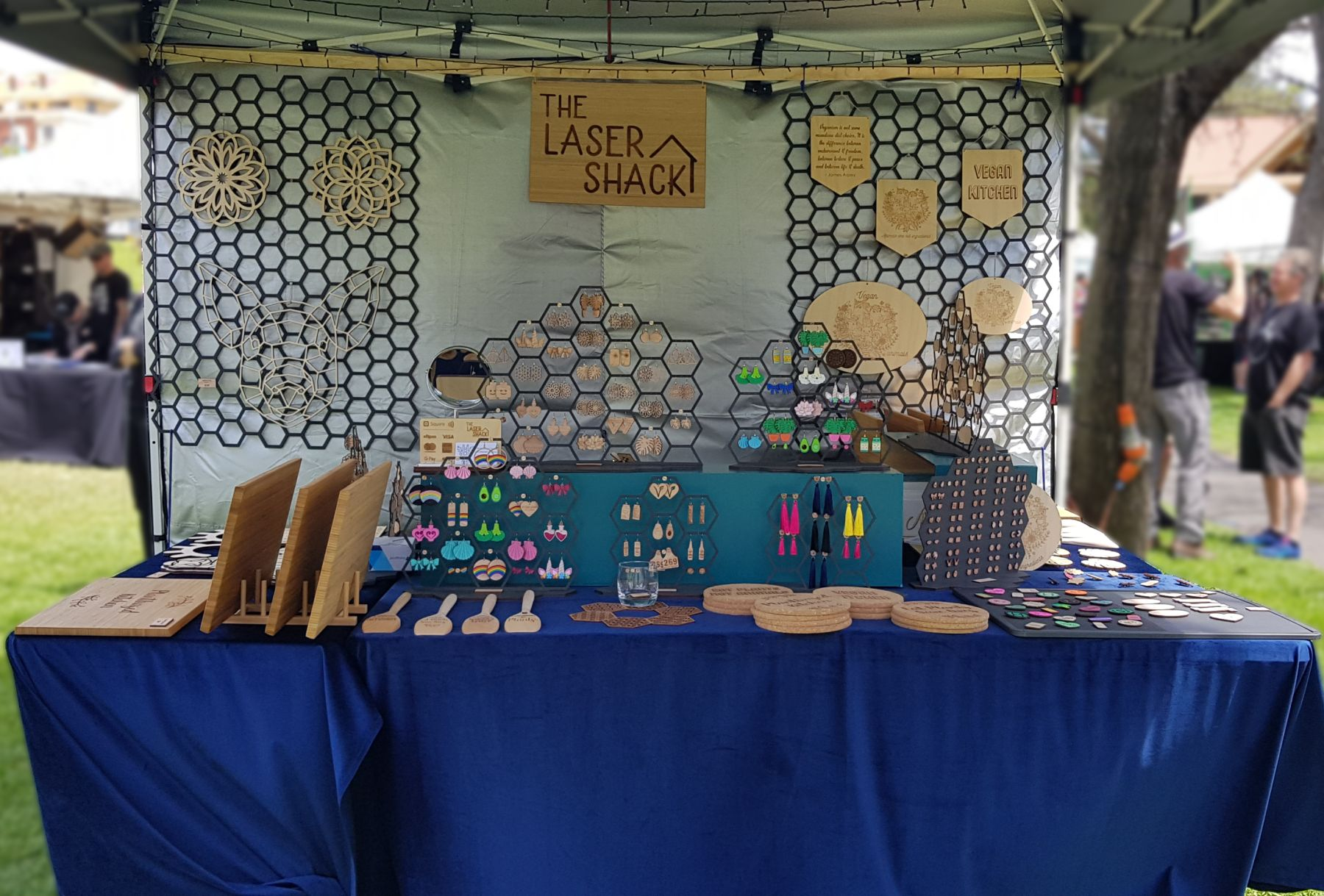 The Laser Shack - Market Stall
